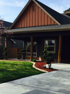 Boise Lawn Care with mowed and edged grass on a great residential property.